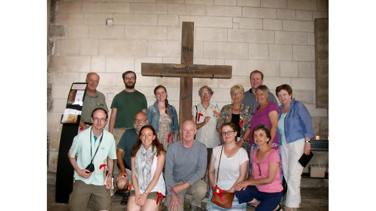 Pat Gaffney's pilgrimage to Vezelay