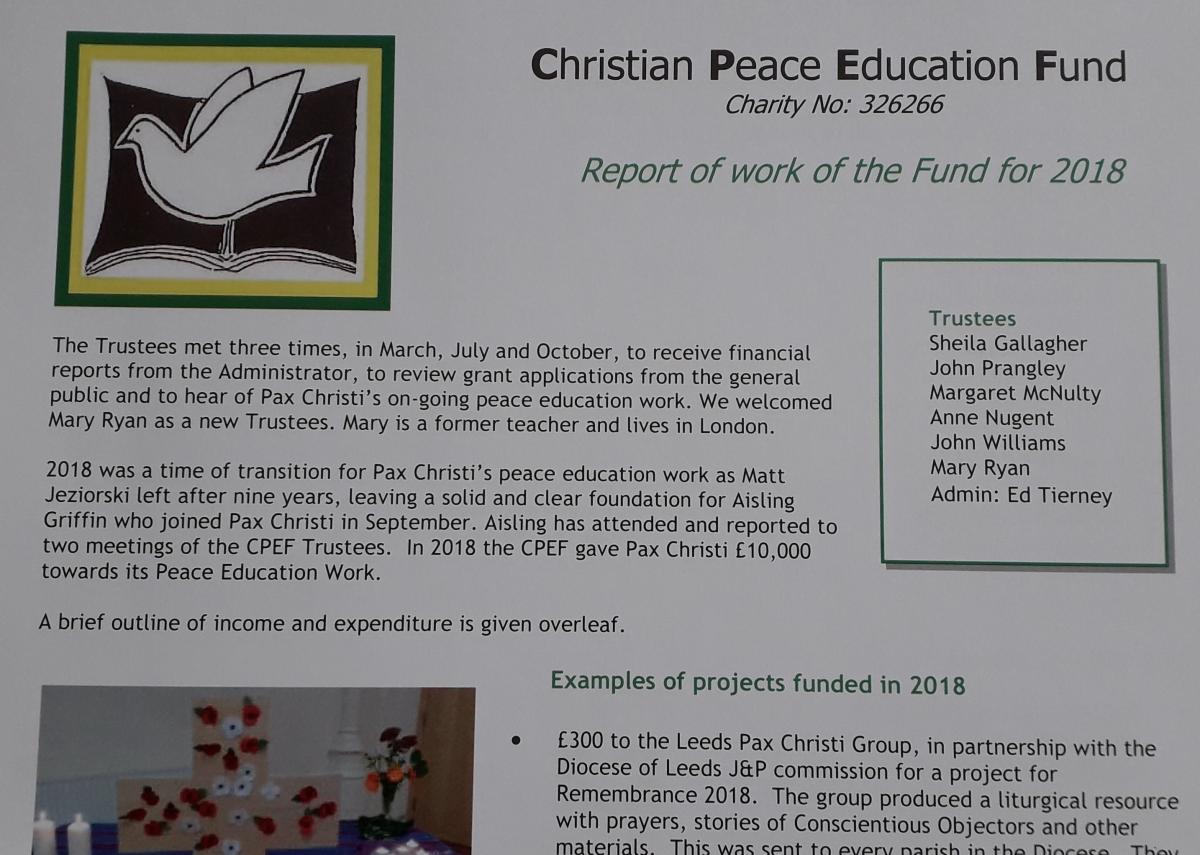 CPEF  Report 2017-18